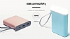 Samsung Taşınabilir Mavi Şarj Cihazı 5100 mAh Kettle Tasarım EB-PA510BLEGWW - Resim 3