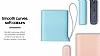 Samsung Taşınabilir Mavi Şarj Cihazı 5100 mAh Kettle Tasarım EB-PA510BLEGWW - Resim 5