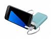 Samsung Taşınabilir Mavi Şarj Cihazı 5100 mAh Kettle Tasarım EB-PA510BLEGWW - Resim 7