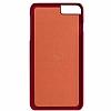 Santa Barbara Plaide iPhone 7 Plus Kırmızı Rubber Kılıf - Resim 4