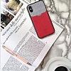 Santa Barbara Tasche Series iPhone X Kartlıklı Kırmızı Kılıf - Resim 1
