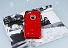 Shengo iPhone 7 Taşlı Kırmızı Silikon Kılıf - Resim 2