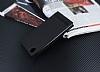 Sony Xperia L1 Gizli Mıknatıslı Yan Kapaklı Siyah Deri Kılıf - Resim 2