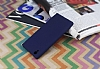 Sony Xperia L1 Mat Lacivert Silikon Kılıf - Resim 2