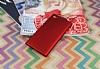 Sony Xperia L1 Tam Kenar Koruma Kırmızı Rubber Kılıf - Resim 1