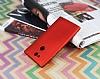 Sony Xperia L2 Mat Kırmızı Silikon Kılıf - Resim 1