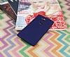 Sony Xperia L2 Mat Lacivert Silikon Kılıf - Resim 2