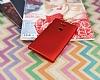 Sony Xperia L2 Mat Kırmızı Silikon Kılıf - Resim 2