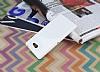 Sony Xperia M2 Beyaz Silikon Kılıf - Resim 2