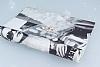 Sony Xperia M5 Love Taşlı Şeffaf Siyah Kılıf - Resim 2