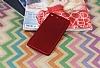 Sony Xperia M5 Mat Kırmızı Silikon Kılıf - Resim 1