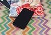 Sony Xperia M5 Mat Siyah Silikon Kılıf - Resim 1