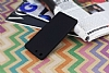 Sony Xperia M5 Mat Siyah Silikon Kılıf - Resim 2