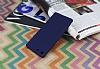 Sony Xperia M5 Mat Lacivert Silikon Kılıf - Resim 1