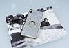 Sony Xperia XA Ultra Selfie Yüzüklü Simli Silver Silikon Kılıf - Resim 1