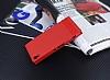 Sony Xperia XA1 Gizli Mıknatıslı Kırmızı Deri Kılıf - Resim 1