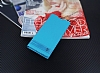 Sony Xperia XA1 Gizli Mıknatıslı Mavi Deri Kılıf - Resim 2