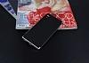 Eiroo Carbon Hybrid Sony Xperia XA1 Silver Kenarlı Karbon Siyah Silikon Kılıf - Resim 1