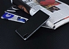 Eiroo Carbon Hybrid Sony Xperia XA1 Silver Kenarlı Karbon Siyah Silikon Kılıf - Resim 2