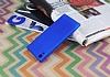 Sony Xperia XA1 Tam Kenar Koruma Lacivert Rubber Kılıf - Resim 1