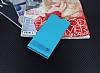 Sony Xperia XA1 Ultra Gizli Mıknatıslı Mavi Deri Kılıf - Resim 2