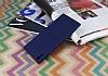 Sony Xperia XA1 Ultra Mat Lacivert Silikon Kılıf - Resim 2