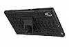 Sony Xperia XA1 Ultra Süper Koruma Standlı Siyah Kılıf - Resim 2