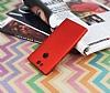 Sony Xperia XA2 Mat Kırmızı Silikon Kılıf - Resim 2