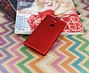 Sony Xperia XA2 Mat Kırmızı Silikon Kılıf - Resim 1