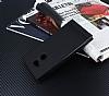 Sony Xperia XA2 Ultra Gizli Mıknatıslı Yan Kapaklı Siyah Deri Kılıf - Resim 2