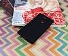 Sony Xperia XA2 Ultra Mat Siyah Silikon Kılıf - Resim 1