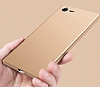 Sony Xperia XZ Premium İnce Mat Gold Silikon Kılıf - Resim 1