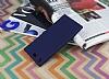 Sony Xperia XZ Premium Mat Lacivert Silikon Kılıf - Resim 2