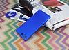 Sony Xperia XZ Premium Tam Kenar Koruma Lacivert Rubber Kılıf - Resim 2