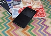 Sony Xperia XZ Premium Pencereli İnce Yan Kapaklı Siyah Kılıf - Resim 1
