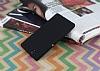 Sony Xperia Z Mat Siyah Silikon Kılıf - Resim 1