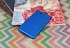 Sony Xperia Z Mat Mavi Silikon Kılıf - Resim 2
