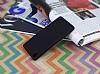 Sony Xperia Z5 Mat Siyah Silikon Kılıf - Resim 1