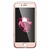 Spigen Air Fit 360 iPhone 7 / 8 Rose Gold Kılıf + 2x Tempered Glass Cam Koruyucu - Resim 2