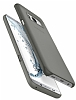 Spigen Air Skin Samsung Galaxy S8 Plus Şeffaf Siyah Rubber Kılıf - Resim 1