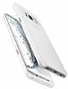 Spigen Air Skin Samsung Galaxy S8 Plus Şeffaf Beyaz Rubber Kılıf - Resim 1
