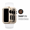 Spigen Apple Watch / Watch 2 Thin Fit Gold Kılıf (42 mm) - Resim: 6