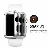 Spigen Apple Watch / Watch 2 Thin Fit Satin Silver Kılıf (42 mm) - Resim: 6