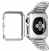 Spigen Apple Watch / Watch 2 Thin Fit Satin Silver Kılıf (42 mm) - Resim: 1