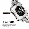 Spigen Apple Watch / Watch 2 Thin Fit Satin Silver Kılıf (42 mm) - Resim: 5
