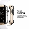 Spigen Apple Watch / Watch 2 Tough Armor Ultra Koruma Gold Kılıf (42 mm) - Resim: 2