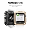 Spigen Apple Watch / Watch 2 Tough Armor Ultra Koruma Gold Kılıf (42 mm) - Resim: 3