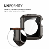 Spigen Apple Watch / Watch 2 Tough Armor Ultra Koruma Gunmetal Kılıf (42 mm) - Resim: 4