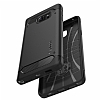 Spigen Capsule Ultra Black Rugged Samsung Galaxy Note 5 Kılıf - Resim: 1