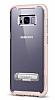 Spigen Crystal Hybrid Samsung Galaxy S8 Plus Pembe Kılıf - Resim 1